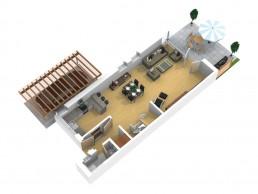 Livicsbau Doppelhaushälfte Nürnberg Thon 3D Ansicht